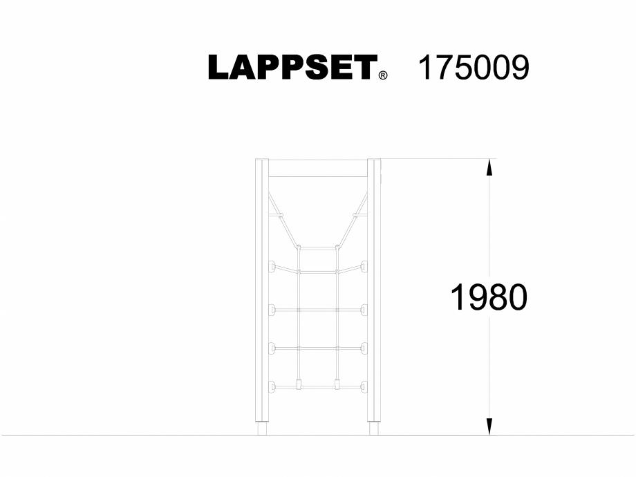 Pagina 1 - CAD-DWG Echipament de joaca pentru copii - 175009 LAPPSET Detaliu de produs CLOVER