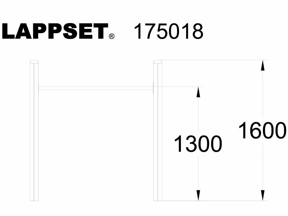 Pagina 1 - CAD-DWG Echipament de joaca pentru copii - 175018 LAPPSET Detaliu de produs CLOVER