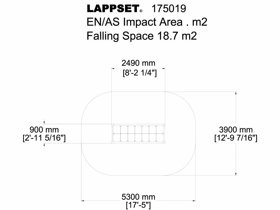 Pagina 1 - CAD-DWG Echipament de joaca pentru copii - 175019 LAPPSET Detaliu de produs CLOVER