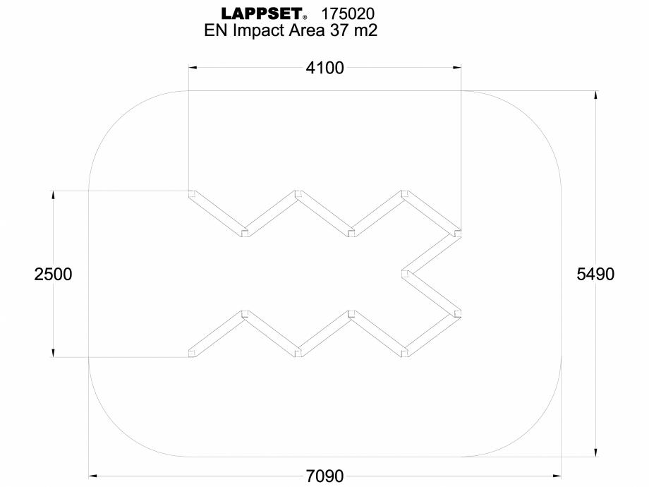 Pagina 1 - CAD-DWG Echipament de joaca pentru copii - 175020 LAPPSET Detaliu de produs CLOVER
