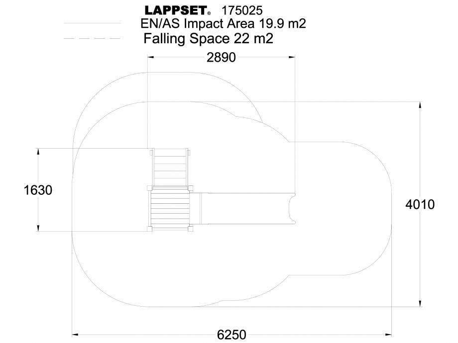 Pagina 1 - CAD-DWG Echipament de joaca pentru copii - 175025 LAPPSET Detaliu de produs CLOVER