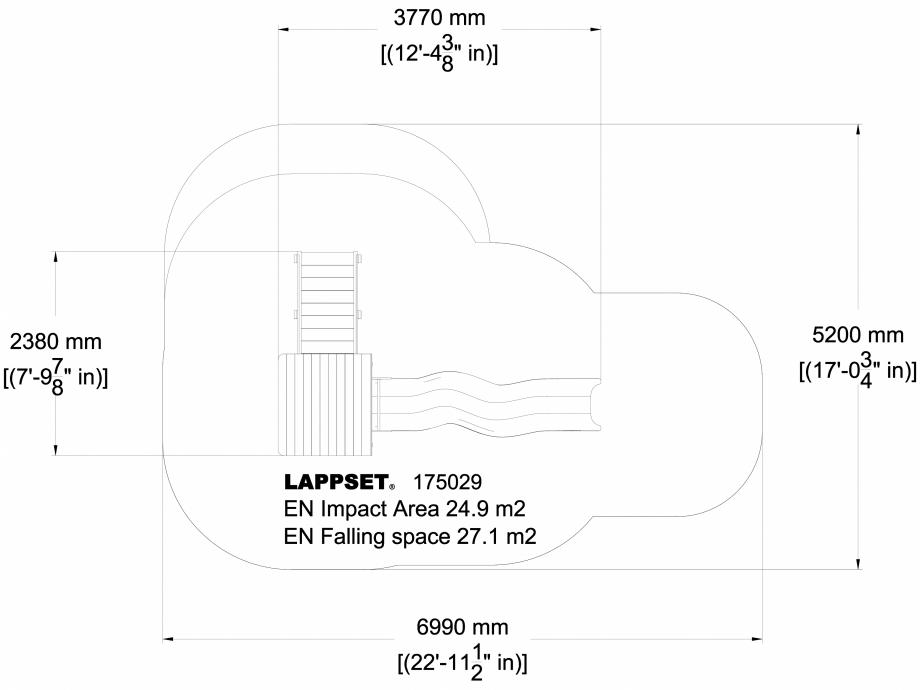 Pagina 1 - CAD-DWG Echipament de joaca pentru copii - 175029 LAPPSET Detaliu de produs CLOVER