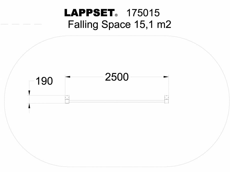 Pagina 1 - CAD-DWG Echipament de joaca pentru copii - 175015 LAPPSET Detaliu de produs CLOVER