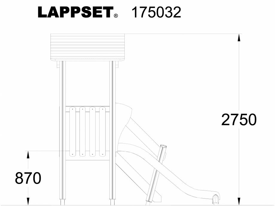 Pagina 1 - CAD-DWG Echipament de joaca pentru copii - 175032 LAPPSET Detaliu de produs CLOVER
