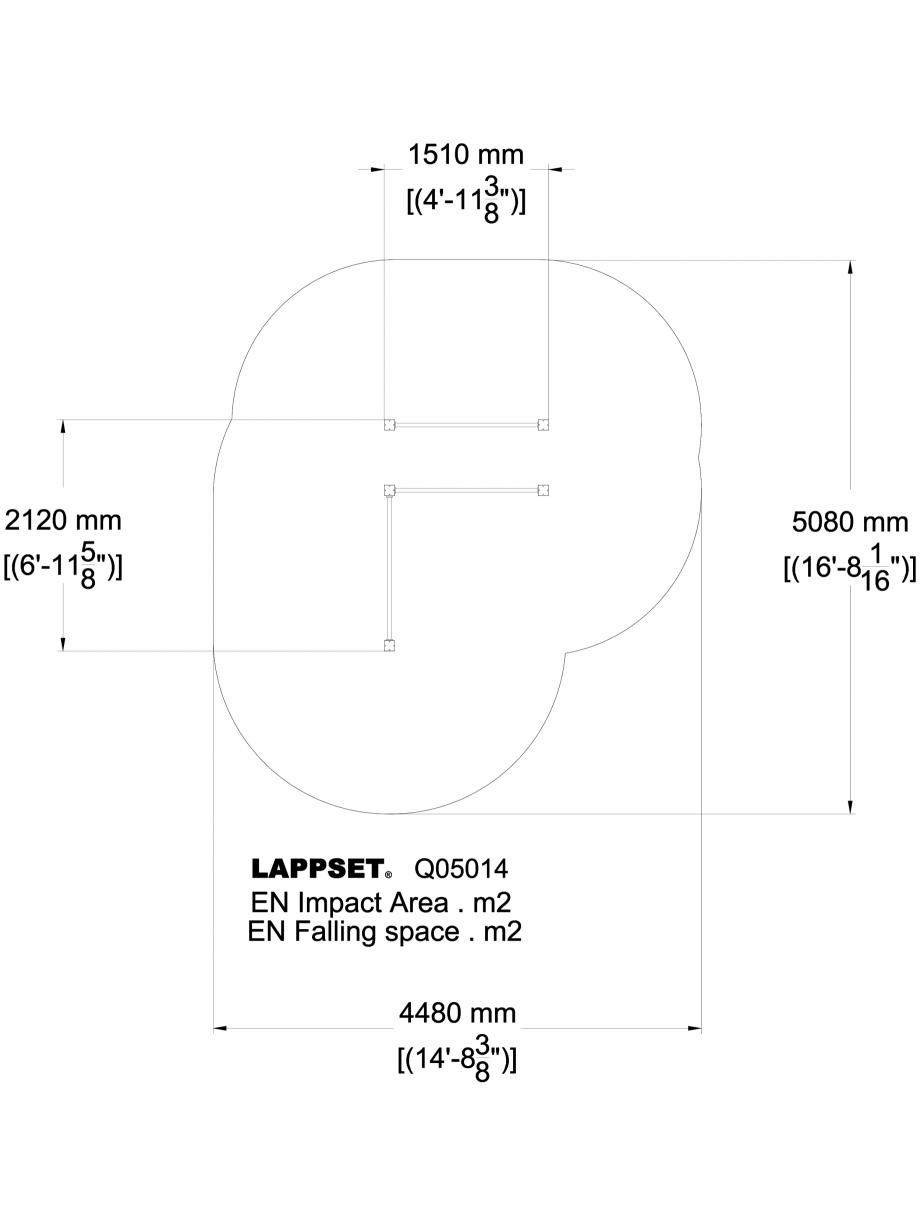 Pagina 1 - CAD-DWG Echipament de joaca pentru copii - 175014 LAPPSET Detaliu de produs CLOVER