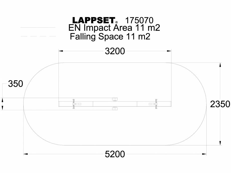 Pagina 1 - CAD-DWG Echipament de joaca pentru copii - 175070 LAPPSET Detaliu de produs CLOVER