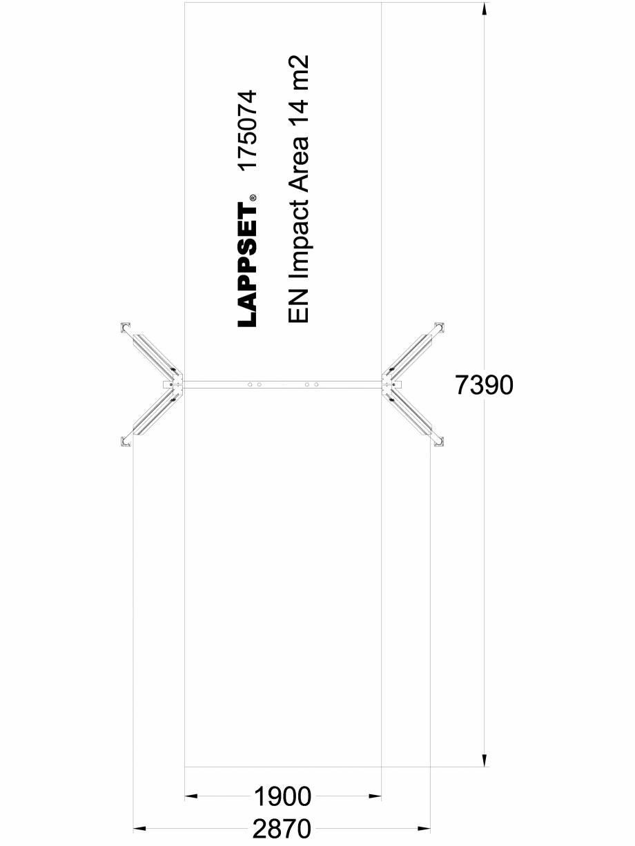 Pagina 1 - CAD-DWG Echipament de joaca pentru copii - 175074 LAPPSET Detaliu de produs CLOVER