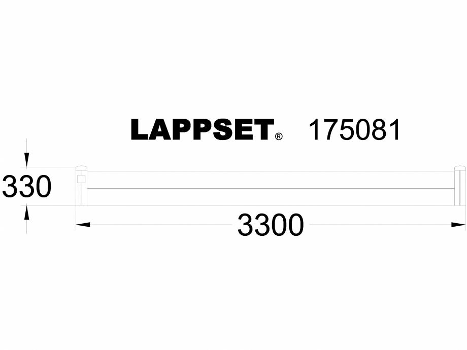 Pagina 1 - CAD-DWG Echipament de joaca pentru copii - 175081 LAPPSET Detaliu de produs CLOVER