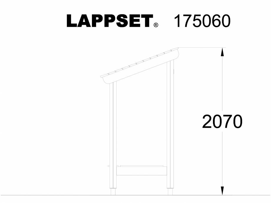 Pagina 1 - CAD-DWG Echipament de joaca pentru copii - 175060 LAPPSET Detaliu de produs CLOVER