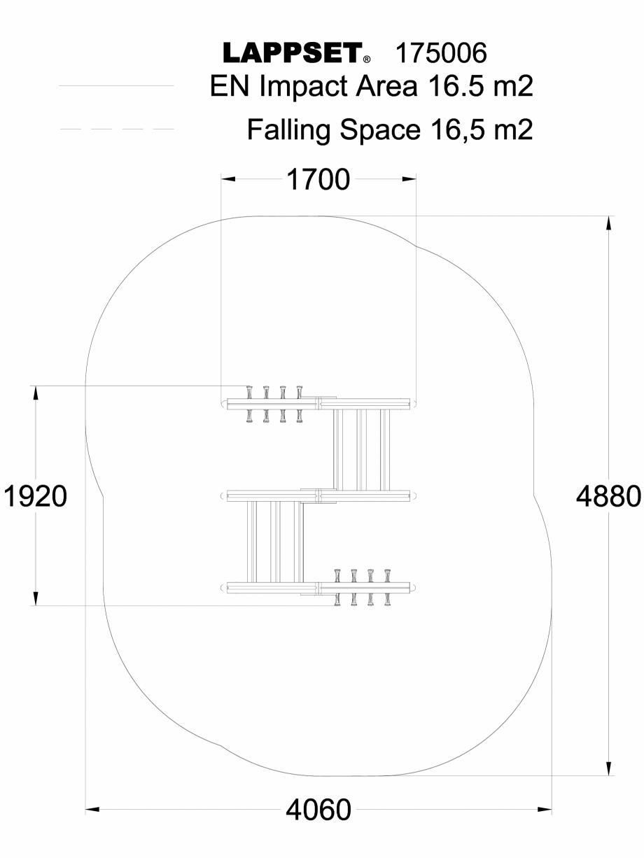 Pagina 1 - CAD-DWG Echipament de joaca pentru copii - 142552 LAPPSET Detaliu de produs CLOVER