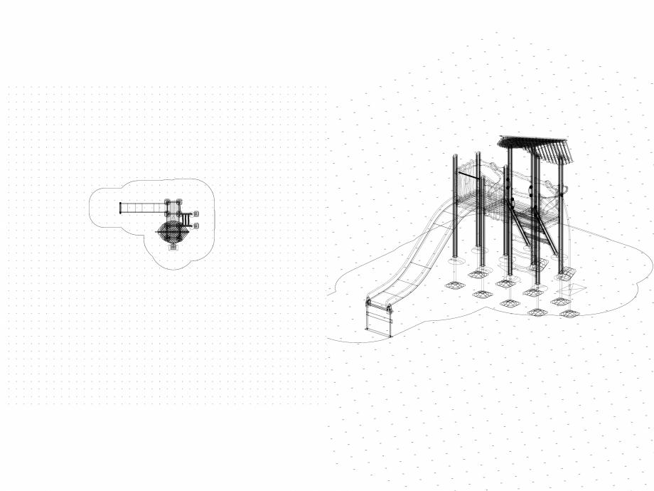 Pagina 1 - CAD-DWG Echipament de joaca pentru copii - 175510(2) LAPPSET Detaliu de produs FLORA