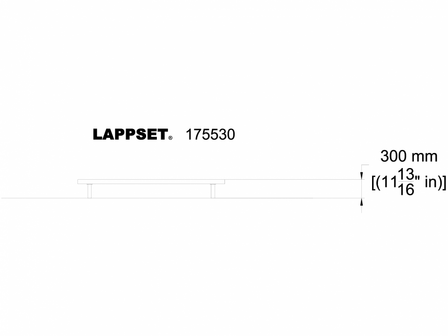 Pagina 1 - CAD-DWG Echipament de joaca pentru copii - 175530(1) LAPPSET Detaliu de produs FLORA