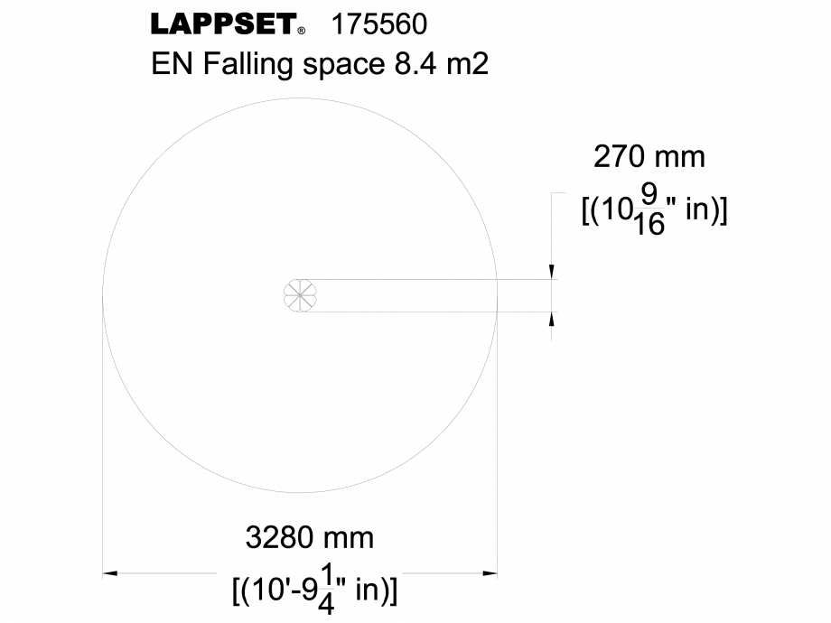 Pagina 1 - CAD-DWG Echipament de joaca pentru copii - 175560 LAPPSET Detaliu de produs FLORA