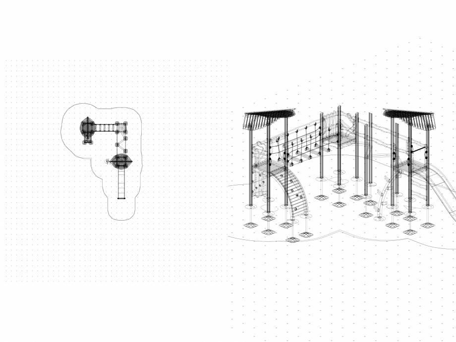Pagina 1 - CAD-DWG Echipament de joaca pentru copii - 175520(2) LAPPSET Detaliu de produs FLORA
