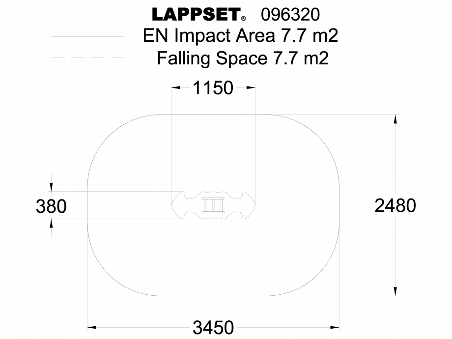 Pagina 1 - CAD-DWG Echipament de joaca pentru copii - 096320 LAPPSET Detaliu de produs NEW FINNO