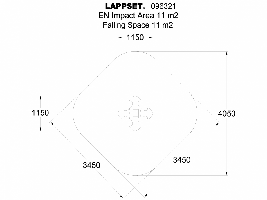 Pagina 1 - CAD-DWG Echipament de joaca pentru copii - 096321 LAPPSET Detaliu de produs NEW FINNO