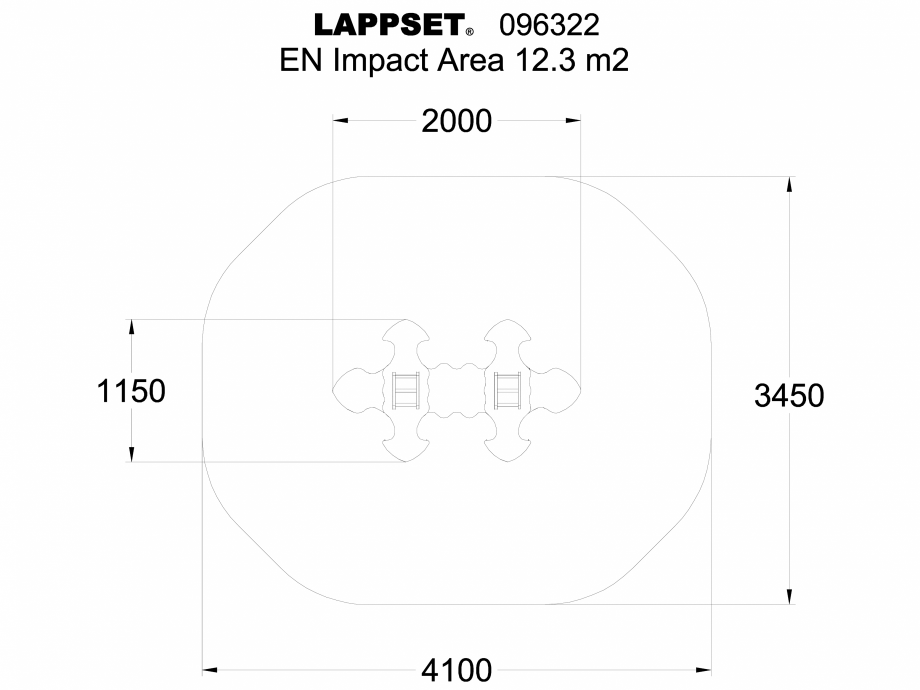 Pagina 1 - CAD-DWG Echipament de joaca pentru copii - 096322 LAPPSET Detaliu de produs NEW FINNO