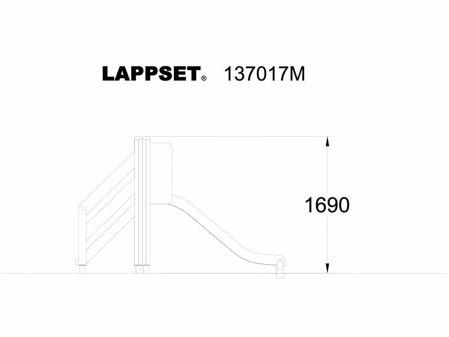 Pagina 1 - CAD-DWG Echipament de joaca pentru copii - 137017 LAPPSET Detaliu de produs NEW FINNO