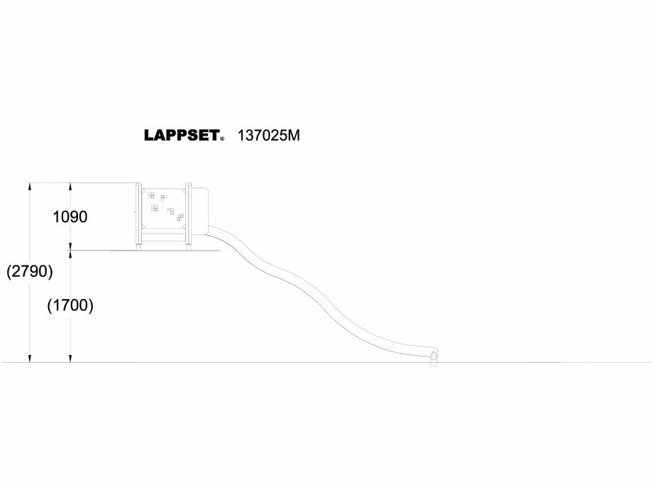 Pagina 1 - CAD-DWG Echipament de joaca pentru copii - 137025 LAPPSET Detaliu de produs NEW FINNO