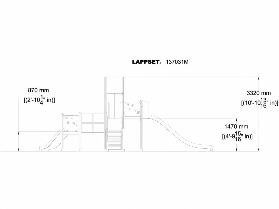 Pagina 1 - CAD-DWG Echipament de joaca pentru copii - 137031 LAPPSET Detaliu de produs NEW FINNO