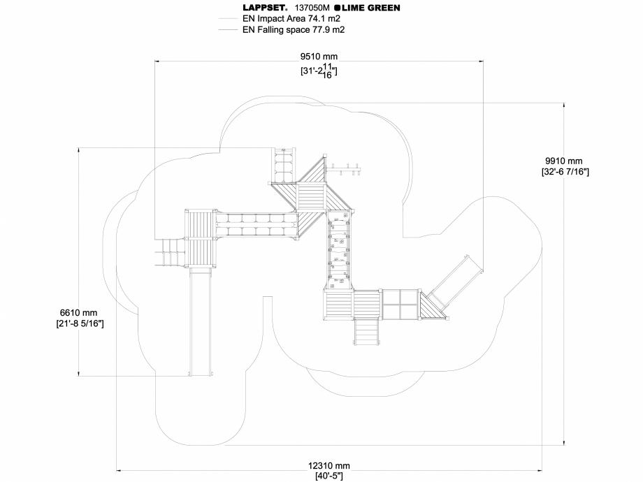 Pagina 1 - CAD-DWG Echipament de joaca pentru copii - 137050 LAPPSET Detaliu de produs NEW FINNO