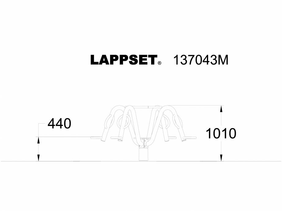 Pagina 1 - CAD-DWG Echipament de joaca pentru copii - 137043 LAPPSET Detaliu de produs NEW FINNO