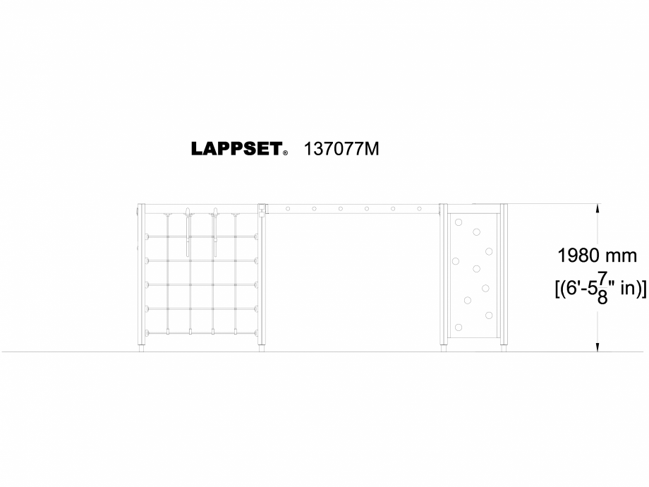 Pagina 1 - CAD-DWG Echipament de joaca pentru copii - 137077 LAPPSET Detaliu de produs NEW FINNO