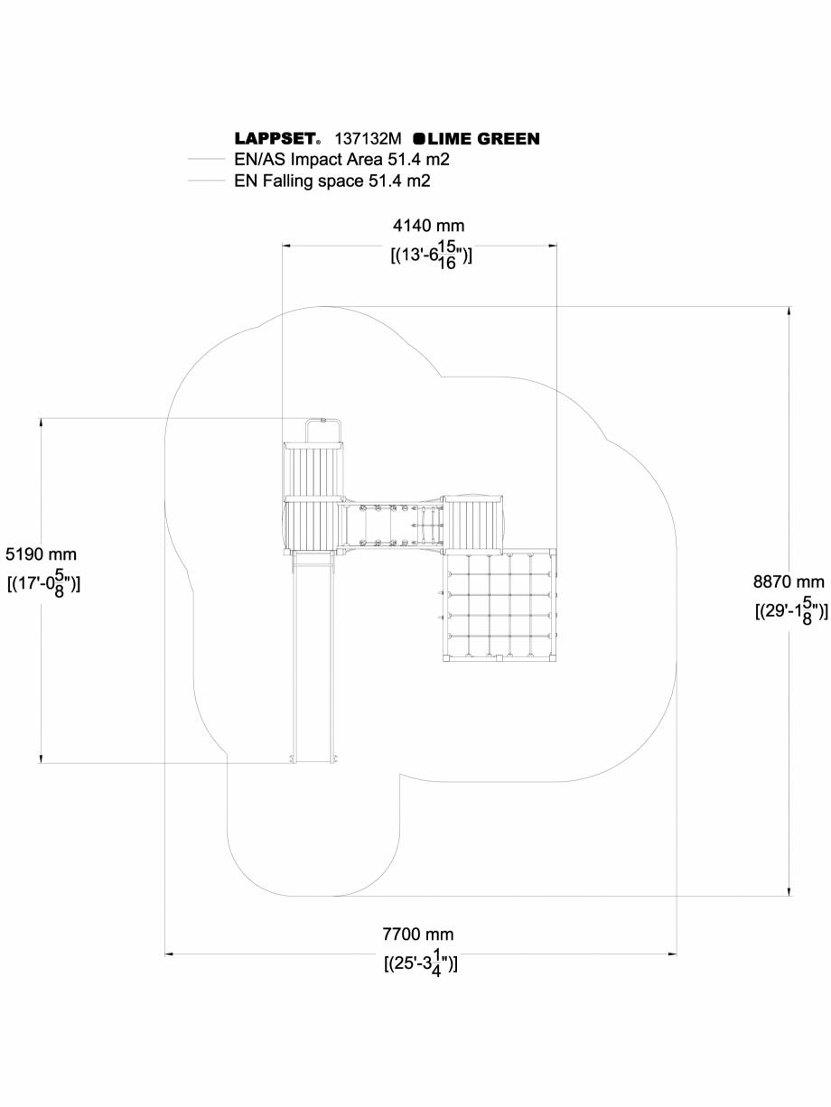 Pagina 1 - CAD-DWG Echipament de joaca pentru copii - 137132 LAPPSET Detaliu de produs NEW FINNO