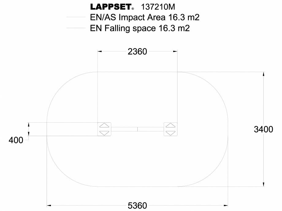 Pagina 1 - CAD-DWG Echipament de joaca pentru copii - 137210 LAPPSET Detaliu de produs NEW FINNO