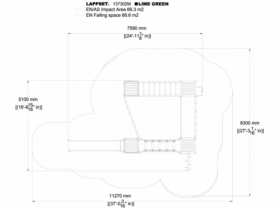 Pagina 1 - CAD-DWG Echipament de joaca pentru copii - 137302 LAPPSET Detaliu de produs NEW FINNO