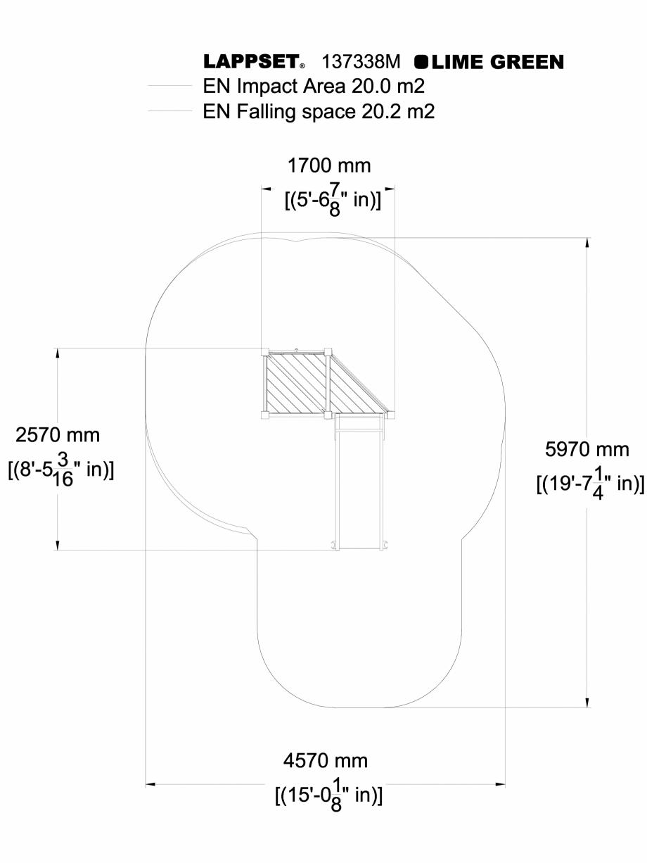 Pagina 1 - CAD-DWG Echipament de joaca pentru copii - 137338 LAPPSET Detaliu de produs NEW FINNO