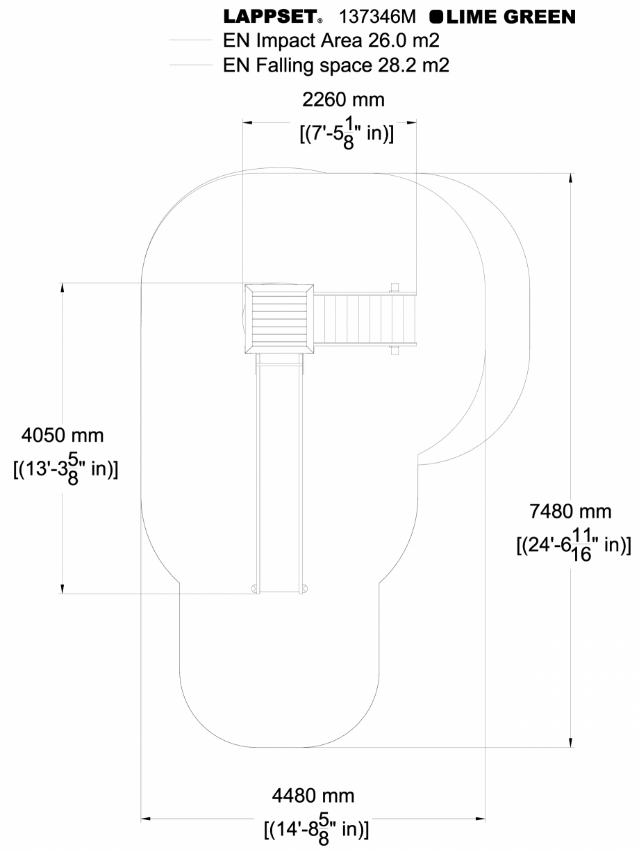 Pagina 1 - CAD-DWG Echipament de joaca pentru copii - 137346 LAPPSET Detaliu de produs NEW FINNO