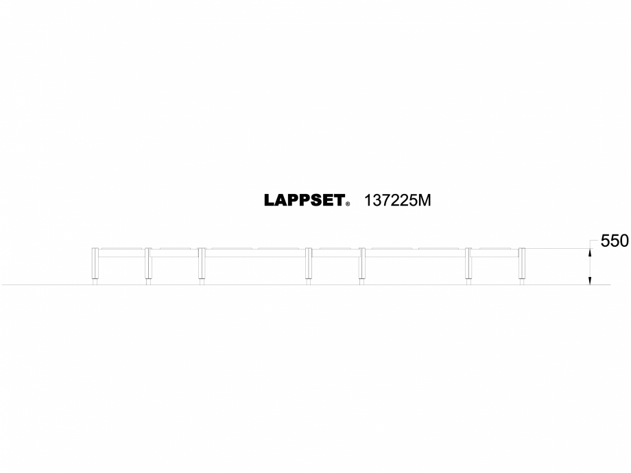 Pagina 1 - CAD-DWG Echipament de joaca pentru copii - 137225 LAPPSET Detaliu de produs NEW FINNO