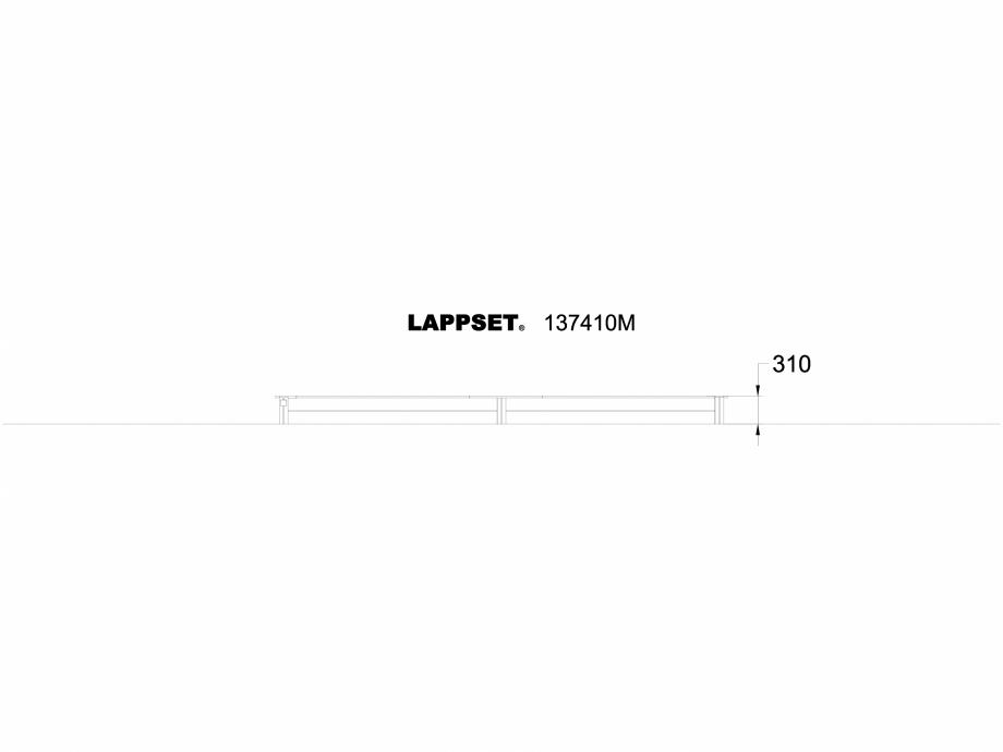 Pagina 1 - CAD-DWG Echipament de joaca pentru copii - 137410 LAPPSET Detaliu de produs NEW FINNO