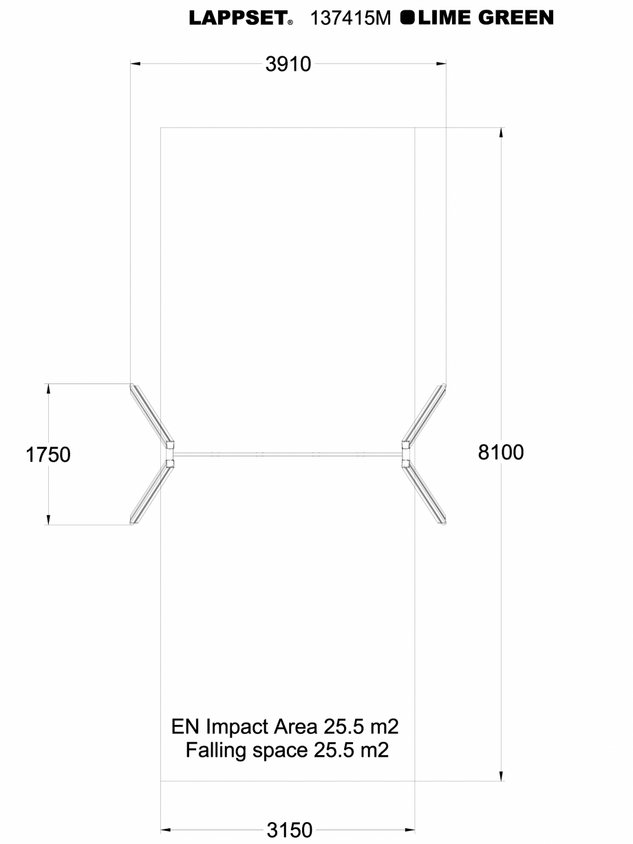Pagina 1 - CAD-DWG Echipament de joaca pentru copii - 137415 LAPPSET Detaliu de produs NEW FINNO