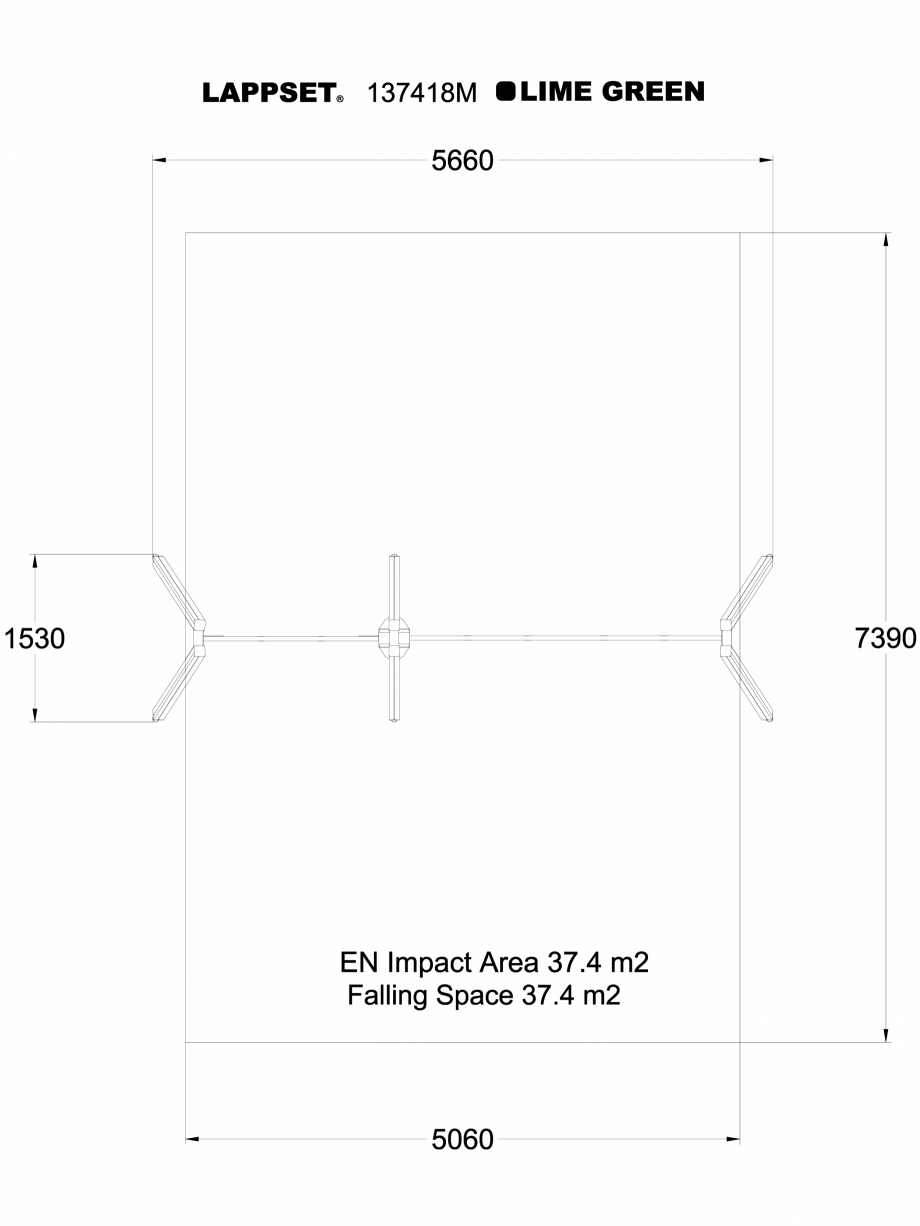 Pagina 1 - CAD-DWG Echipament de joaca pentru copii - 137418 LAPPSET Detaliu de produs NEW FINNO
