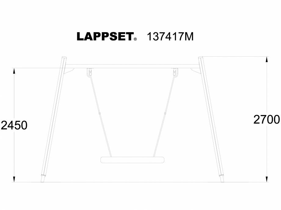 Pagina 1 - CAD-DWG Echipament de joaca pentru copii - 137417 LAPPSET Detaliu de produs NEW FINNO