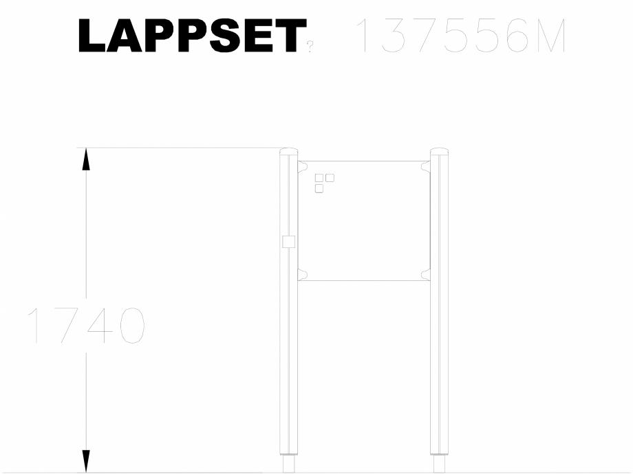 Pagina 1 - CAD-DWG Echipament de joaca pentru copii - 137556 LAPPSET Detaliu de produs NEW FINNO