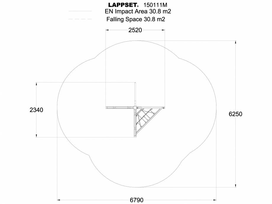 Pagina 1 - CAD-DWG Echipament de joaca pentru copii - 150111 LAPPSET Detaliu de produs NEW FINNO