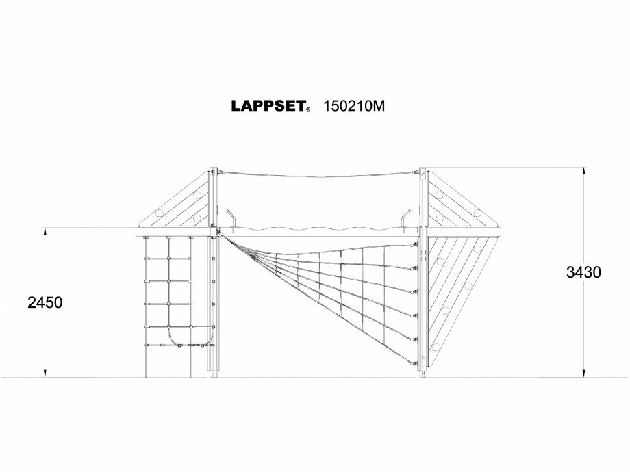 Pagina 1 - CAD-DWG Echipament de joaca pentru copii - 150210 LAPPSET Detaliu de produs NEW FINNO