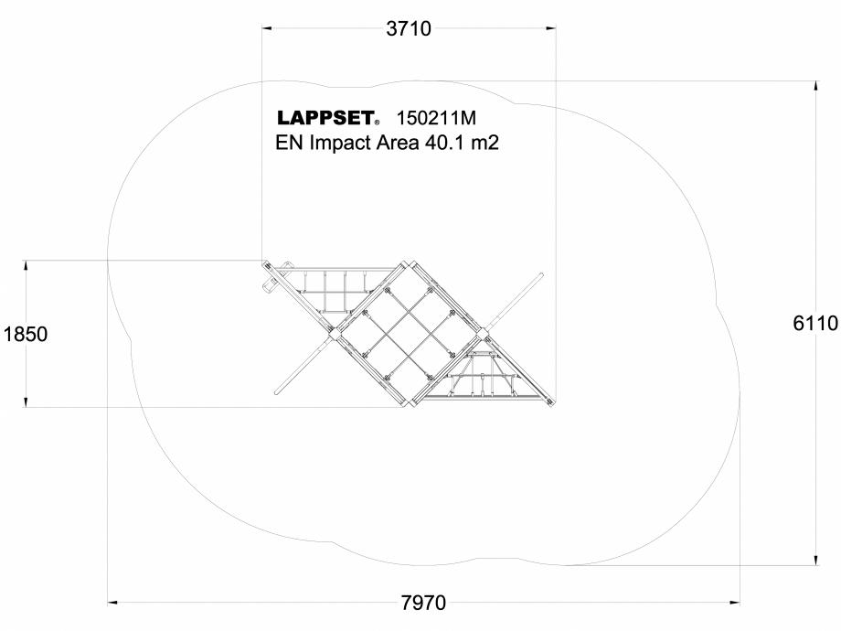 Pagina 1 - CAD-DWG Echipament de joaca pentru copii - 150211 LAPPSET Detaliu de produs NEW FINNO