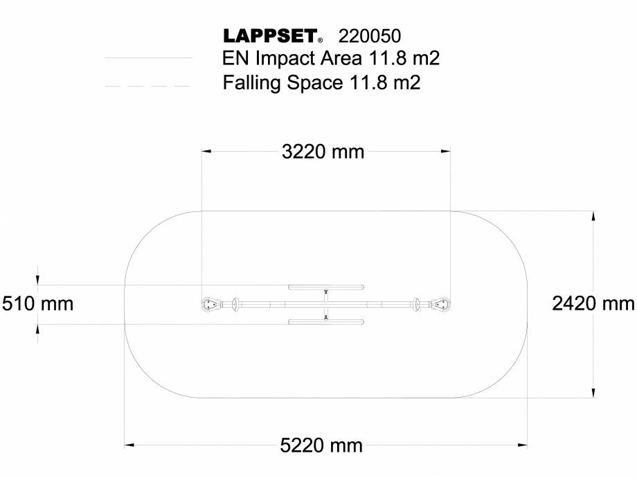 Pagina 1 - CAD-DWG Echipament de joaca pentru copii - 220050 LAPPSET Detaliu de produs NEW FINNO