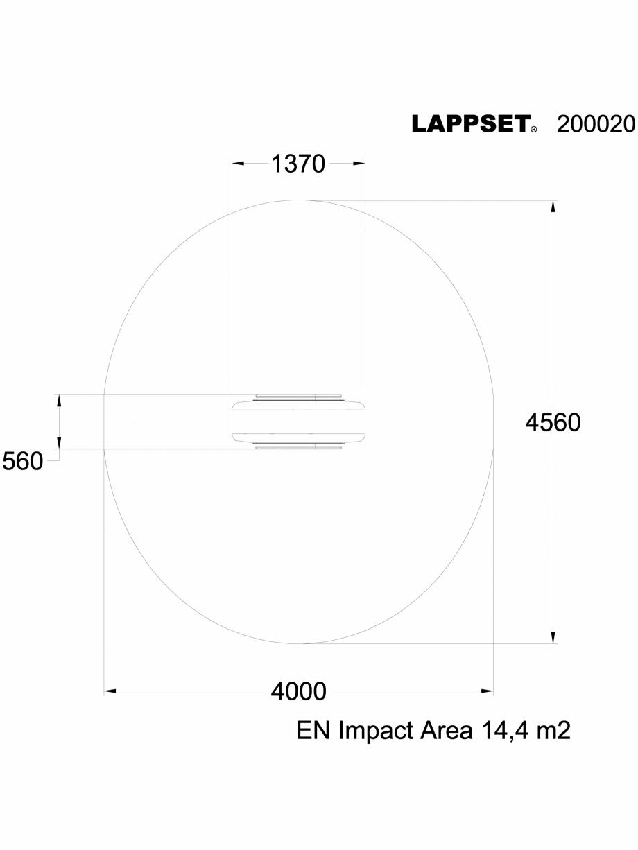 Pagina 1 - CAD-DWG Echipament de joaca pentru copii - 200020 LAPPSET Detaliu de produs NEW FINNO