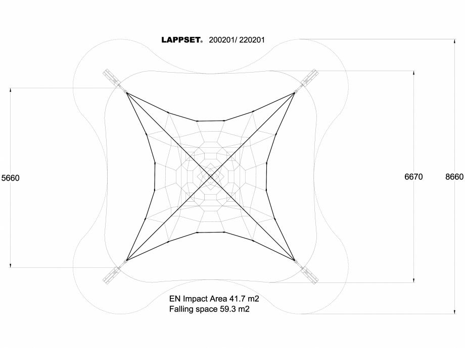 Pagina 1 - CAD-DWG Echipament de joaca pentru copii - 200201(1) LAPPSET Detaliu de produs CLOXX