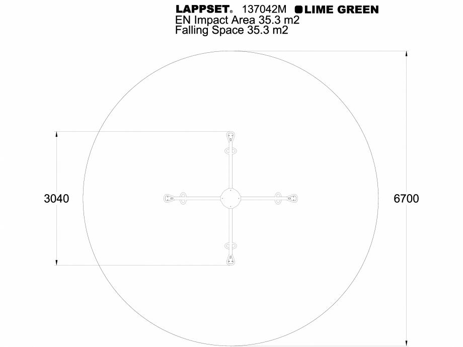 Pagina 1 - CAD-DWG Echipament de joaca pentru copii - 137042MPL LAPPSET Detaliu de produs CLOXX