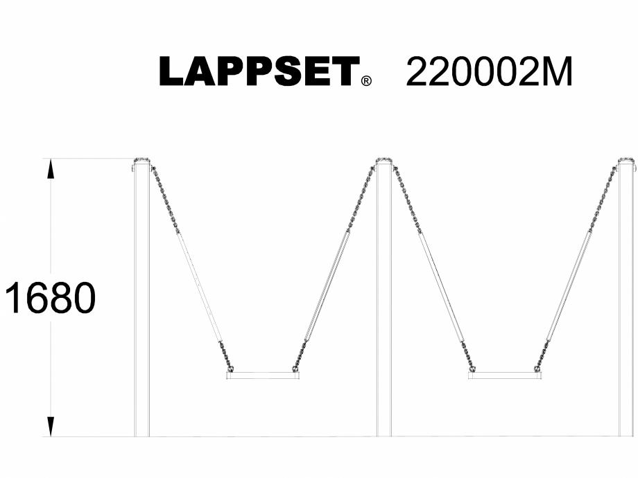 Pagina 1 - CAD-DWG Echipament de joaca pentru copii - 220002MSI LAPPSET Detaliu de produs CLOXX