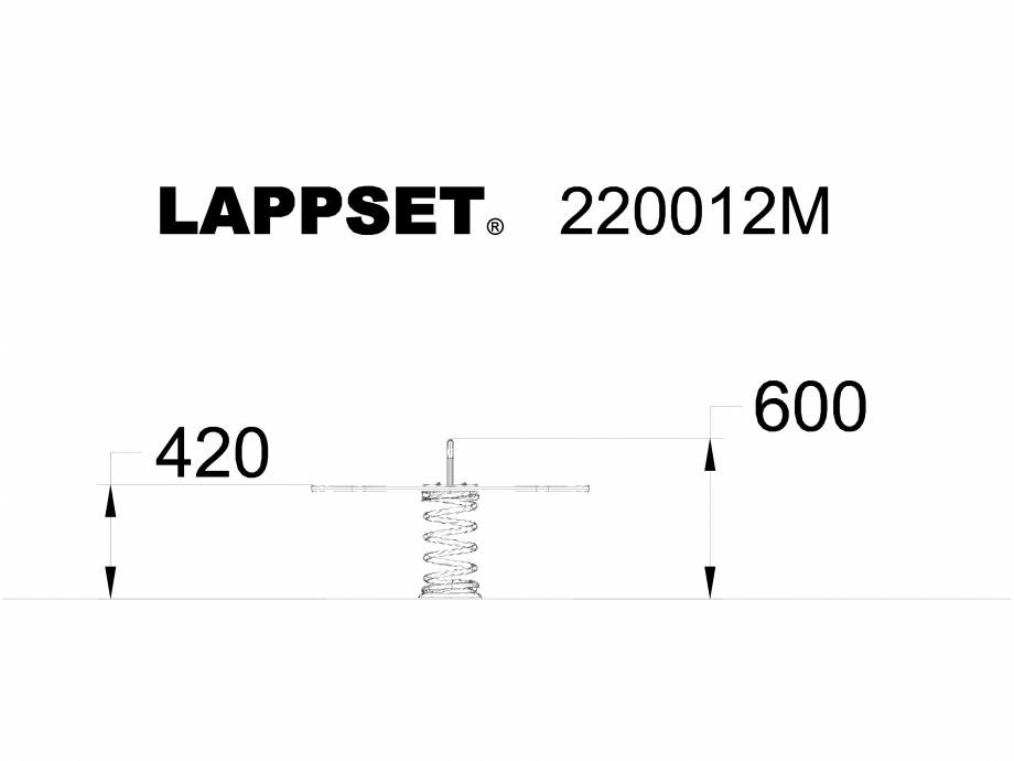 Pagina 1 - CAD-DWG Echipament de joaca pentru copii - 220012M LAPPSET Detaliu de produs CLOXX