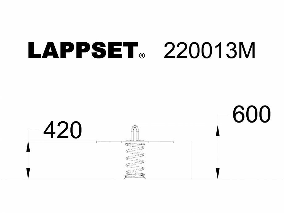 Pagina 1 - CAD-DWG Echipament de joaca pentru copii - 220013M LAPPSET Detaliu de produs CLOXX