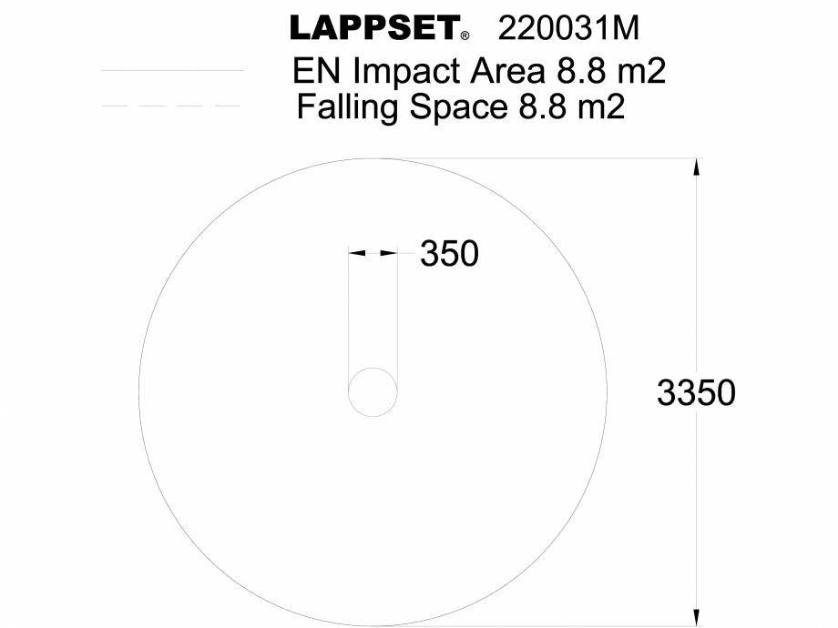 Pagina 1 - CAD-DWG Echipament de joaca pentru copii - 220031M(1) LAPPSET Detaliu de produs CLOXX