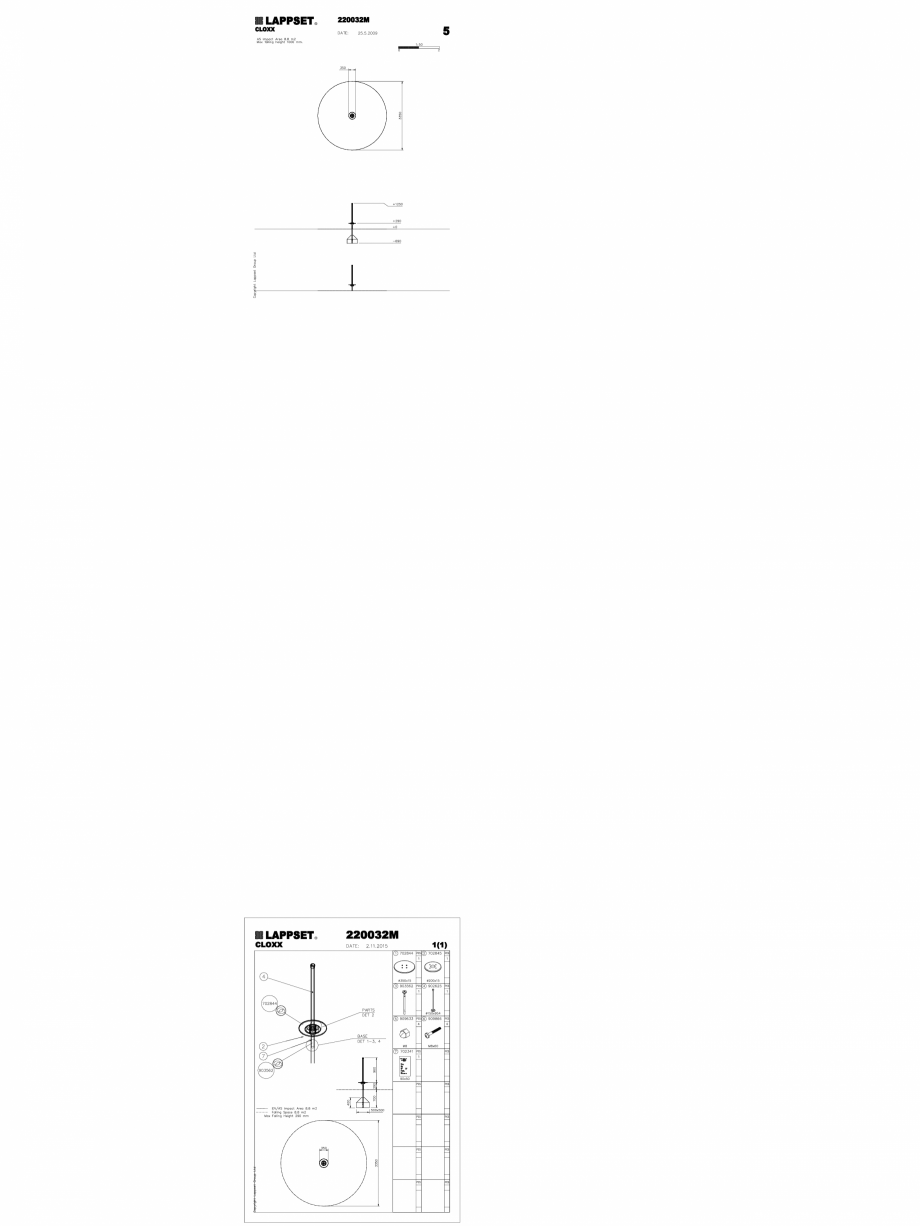 Pagina 1 - CAD-DWG Echipament de joaca pentru copii - 220032M(2) LAPPSET Detaliu de produs CLOXX